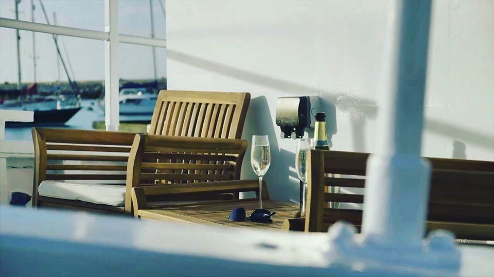 Static Boat Breaks Brixham - Deck view