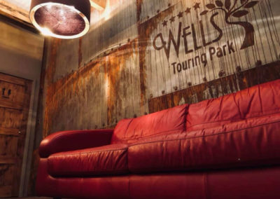Wells Touring Park Cafe Lounge Sofas